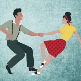 Tanzpartnerin Belgershain   Lindy